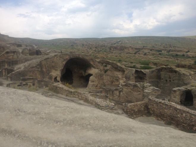 Uplistsikhe cave complex