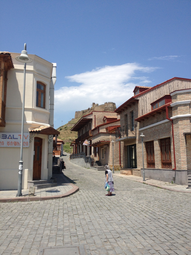 Gori's empty streets